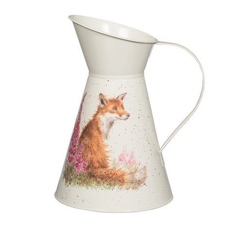 Wrendale Flower Jug - Foxgloves Fox