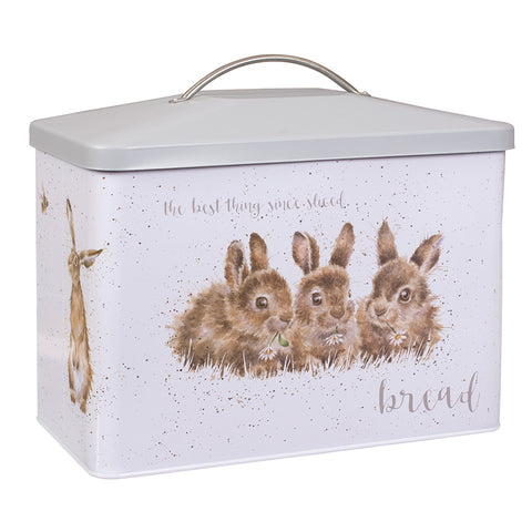 NEW 2018 Wrendale Bread Bin - Bunnies & Foxes