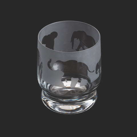 Dartington Crystal Aspect Tumbler Elephant