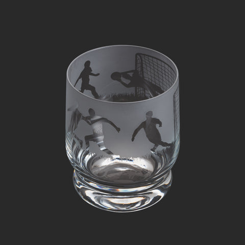 Dartington Crystal Aspect Tumbler Football