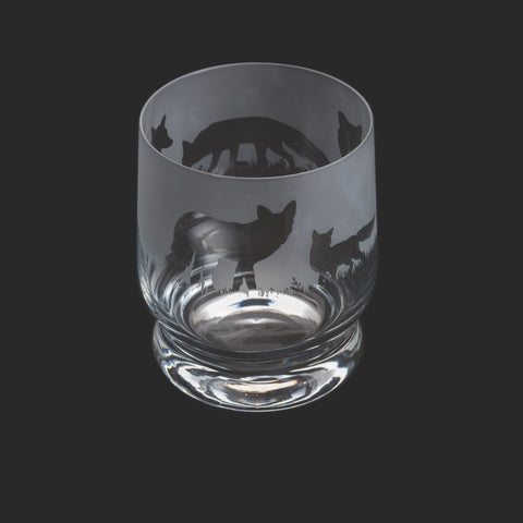Dartington Crystal Aspect Tumbler Fox