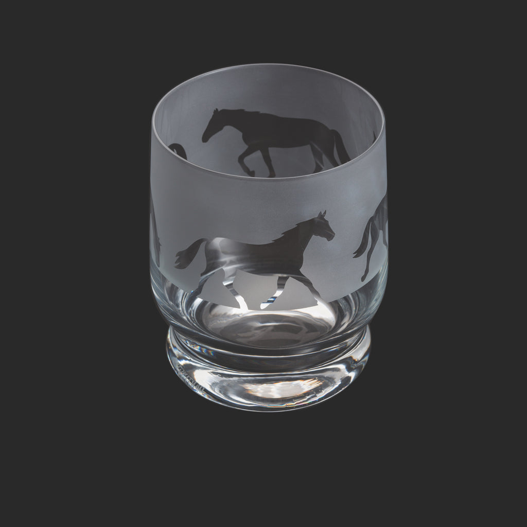 Dartington Crystal Aspect Tumbler Horse