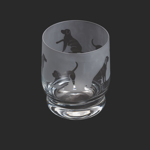 Dartington Crystal Aspect Tumbler Labrador