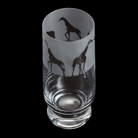 Dartington Crystal Aspect Highball Giraffe