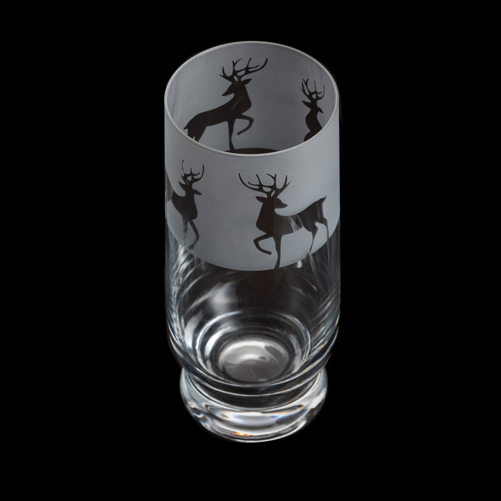 Dartington Crystal Aspect Highball Reindeer
