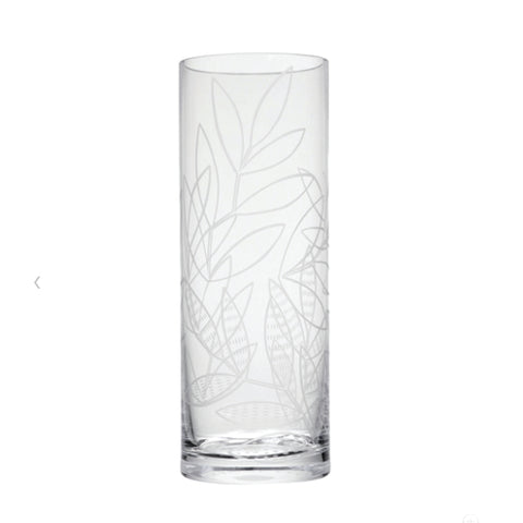 Dartington Crystal Tall Cylinder Vase