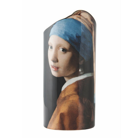 John Beswick Silhouette d'art Vase - Vermeer Girl with the Pearl Earring