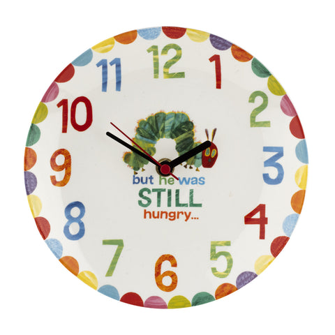 The Very Hungry Caterpillar Clock