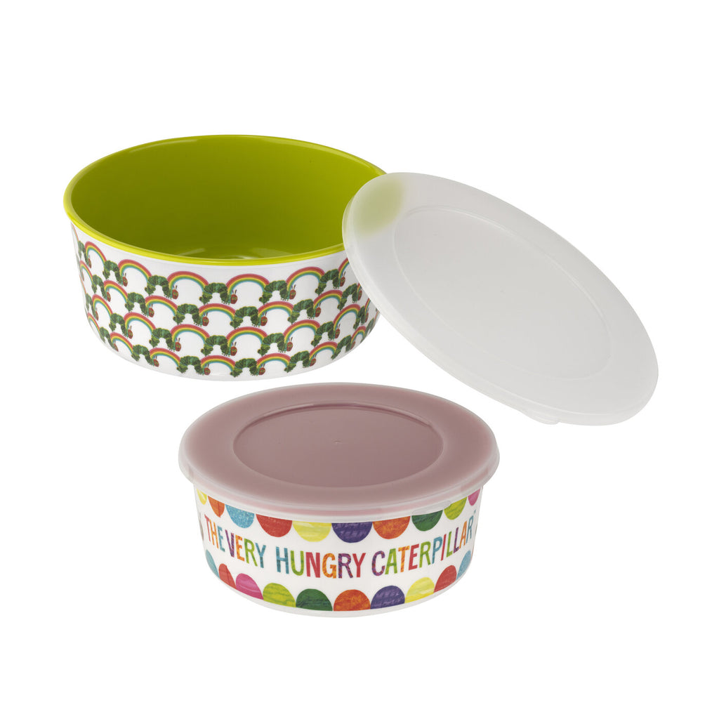 The Very Hungry Caterpillar Set of Two Storage Tubs