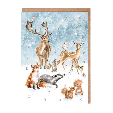 Wrendale Advent Calendar Cards