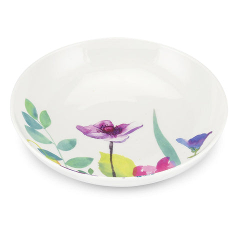 Water Garden Pasta / Cereal / Dessert  -  Low Bowl 22.5cm / 8.5""