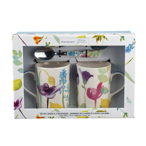 Water Garden Mug & Spoon Gift Set