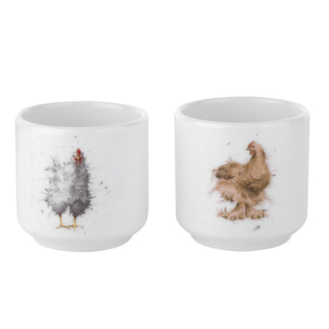 Wrendale Egg Cups - Set of 2