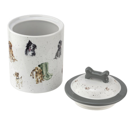 Wrendale Ceramic Dog Treat Storage Jar