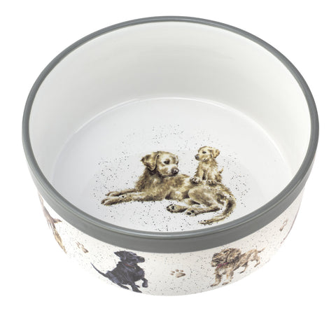 Wrendale Ceramic Dog Bowl   20cm / 8""