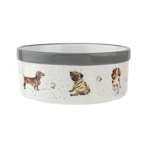 Wrendale Ceramic Dog Bowl  15.4cm / 6""