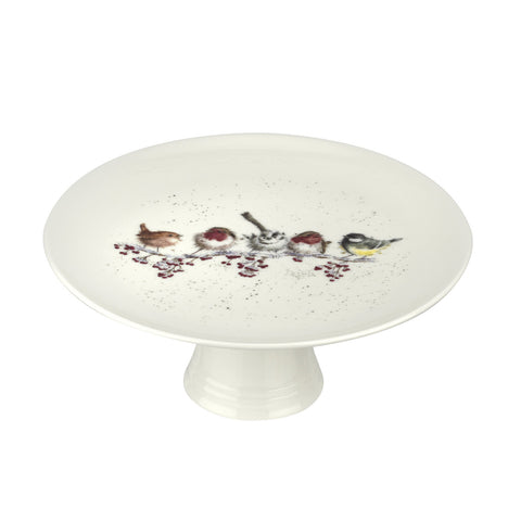 Wrendale Footed Cake Stand - NEW 2018 Christmas Collection