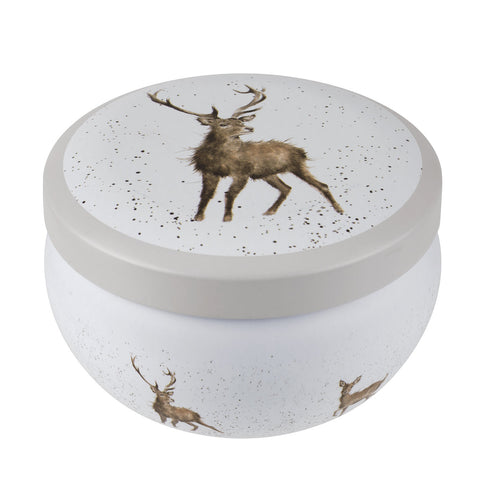 Wrendale Wax Filled Boutique Tin (Stag) - Wild at Heart