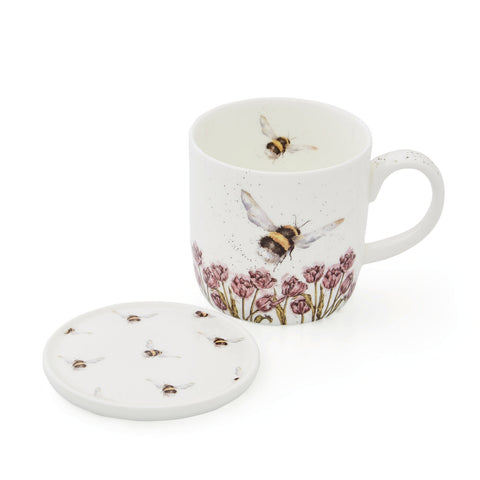 Wrendale Mug & Coaster Set The Bee Collection