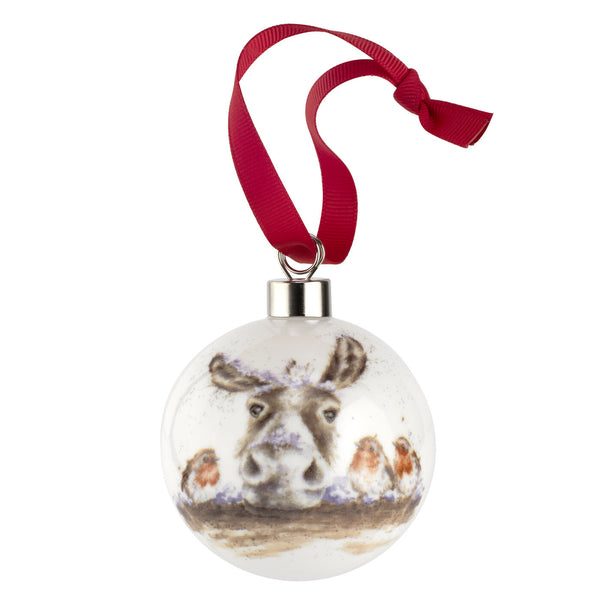 Wrendale Christmas Bauble Decorations House Of Portmeirion