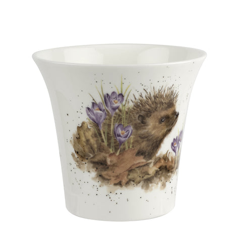 COMING SOON Wrendale Flower/Herb Pot Hedgehog