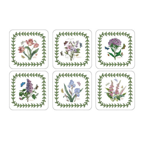 Botanic Garden Coasters - Box Set of 6