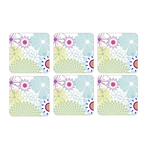 Crazy Daisy Coasters ( Box Set of 6 )