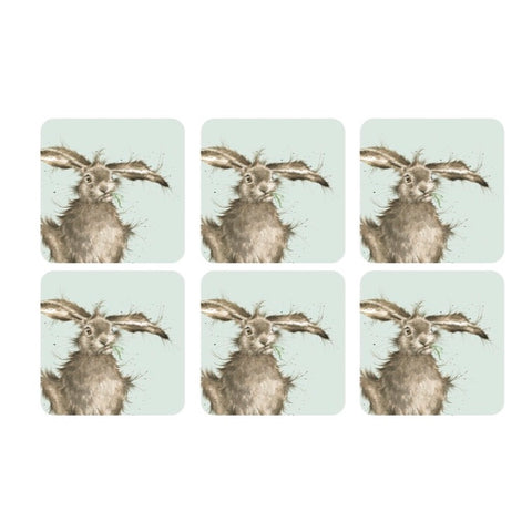 Wrendale Coasters Set of 6 - Hare