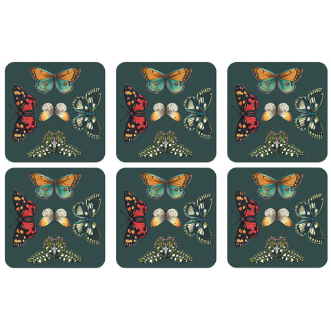 Botanic Garden Harmony Coasters - Box Set of 6