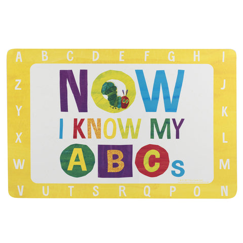 The Very Hungry Caterpillar Flexible Placemat - ABC