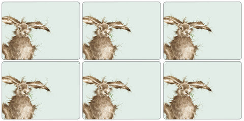 Wrendale Placemats Set of 6 - Hare