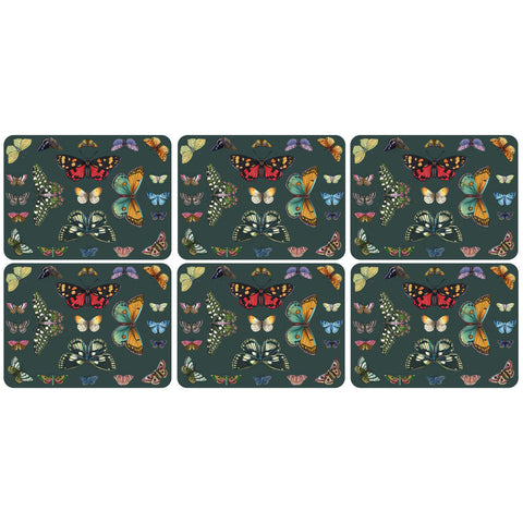 Botanic Garden Harmony Placemats - Box Set of 6