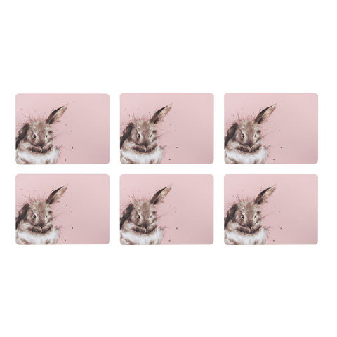 COMING SOON Wrendale Placemats Set of 6 Rabbit