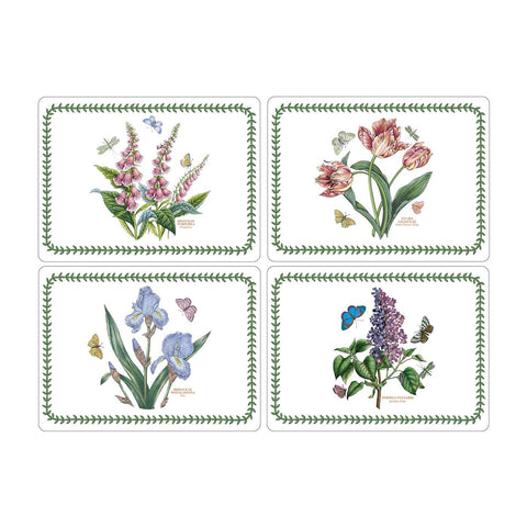 Botanic Garden Extra Large Placemats - Box Set of 4