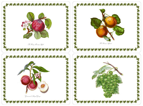 Pomona Extra Large Placemats Box Set of 4