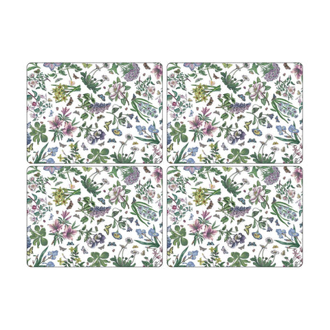 Botanic Garden Chintz Extra Large Placemats ( Box Set of 4 )