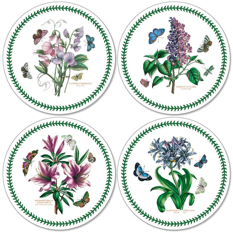 Botanic Garden Round Placemats - Set of 4