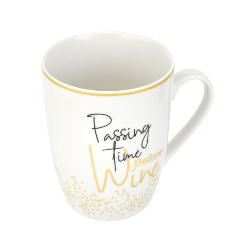 Pimpernel Mug - Passing Time Before Wine