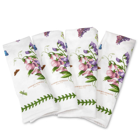 Botanic Garden Cotton Napkins Pack of 4