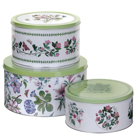 Botanic Garden - Cake Tins - Nest of 3