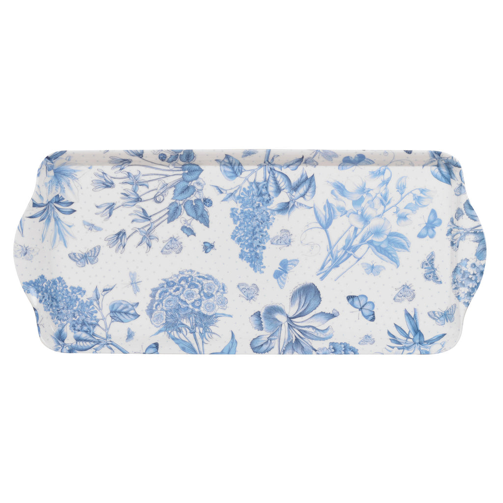 Botanic Blue Sandwich Tray