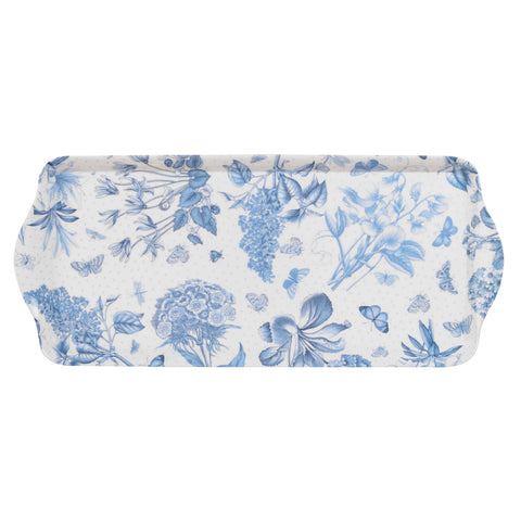 Botanic Blue Melamine Serving / Sandwich Tray