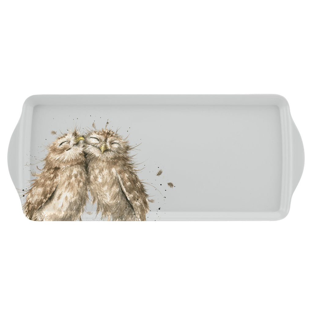 Wrendale Sandwich Tray - Owls