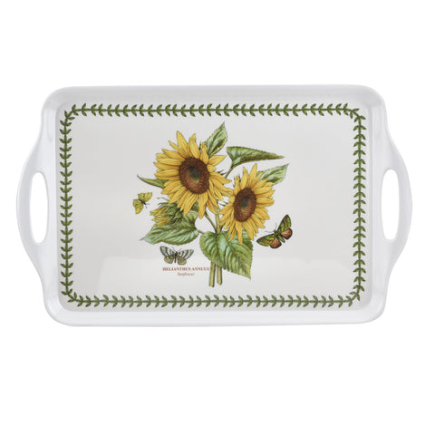 Botanic Garden Large Handled Serving Tray - Sunflower