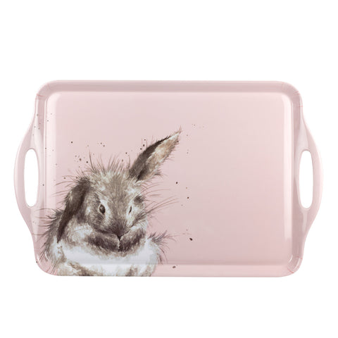 COMING SOON Wrendale Large Handled Tray Rabbit