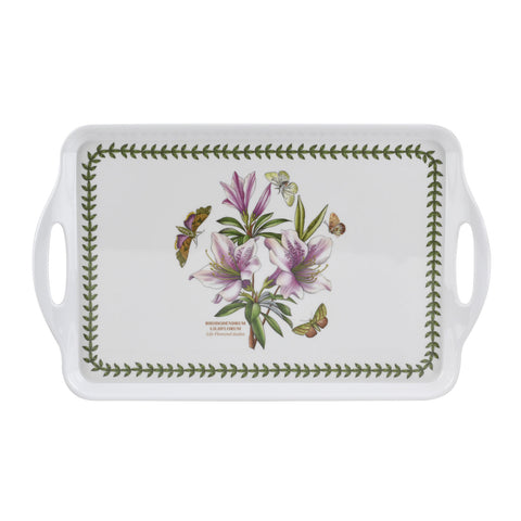 Botanic Garden Medium Handled Tray - Azalea