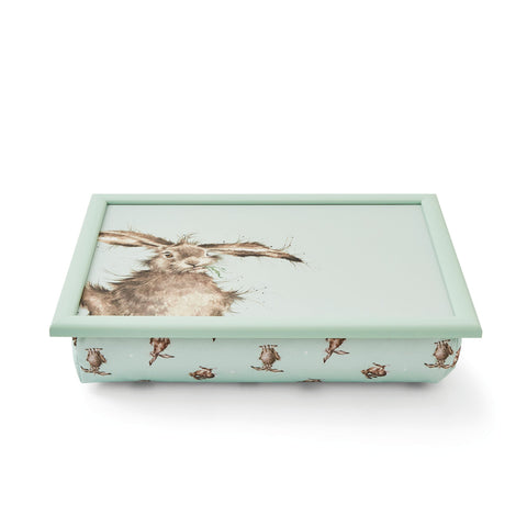 COMING SOON Wrendale Cushioned Lap Tray Hare