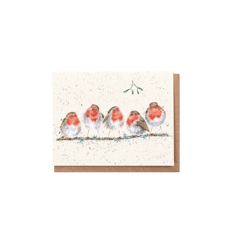 Wrendale Charity Miniature Single Christmas Cards