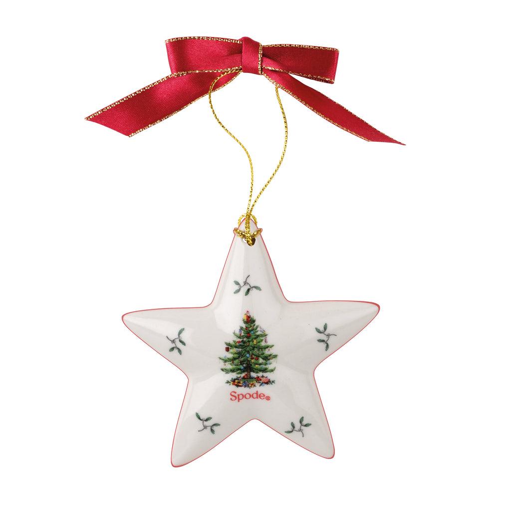 Spode Christmas Tree Star Decoration