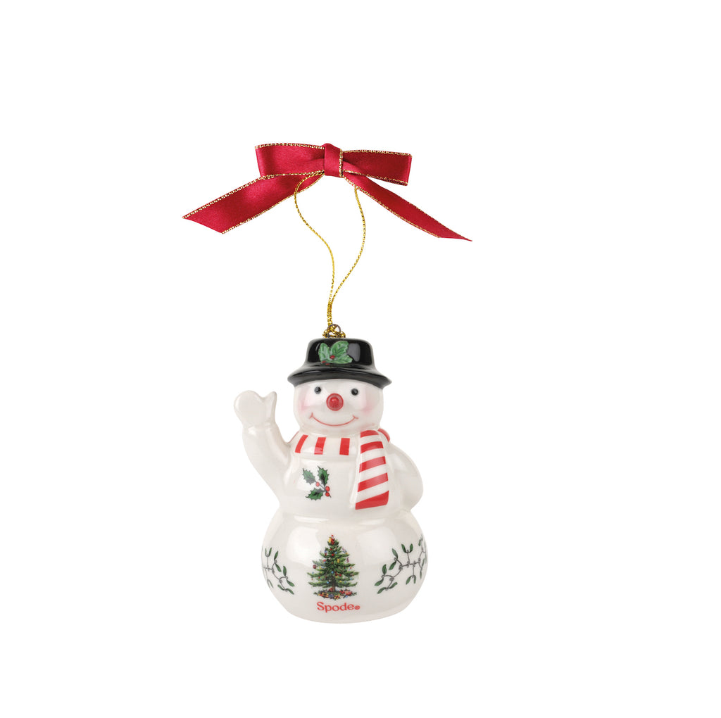 Spode Christmas Tree Snowman Decoration